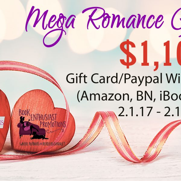 Mega Romance Giveaway! You could win $1,100!